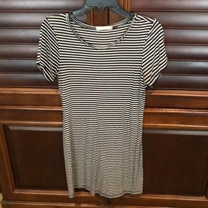 T-shirt mini dress size M